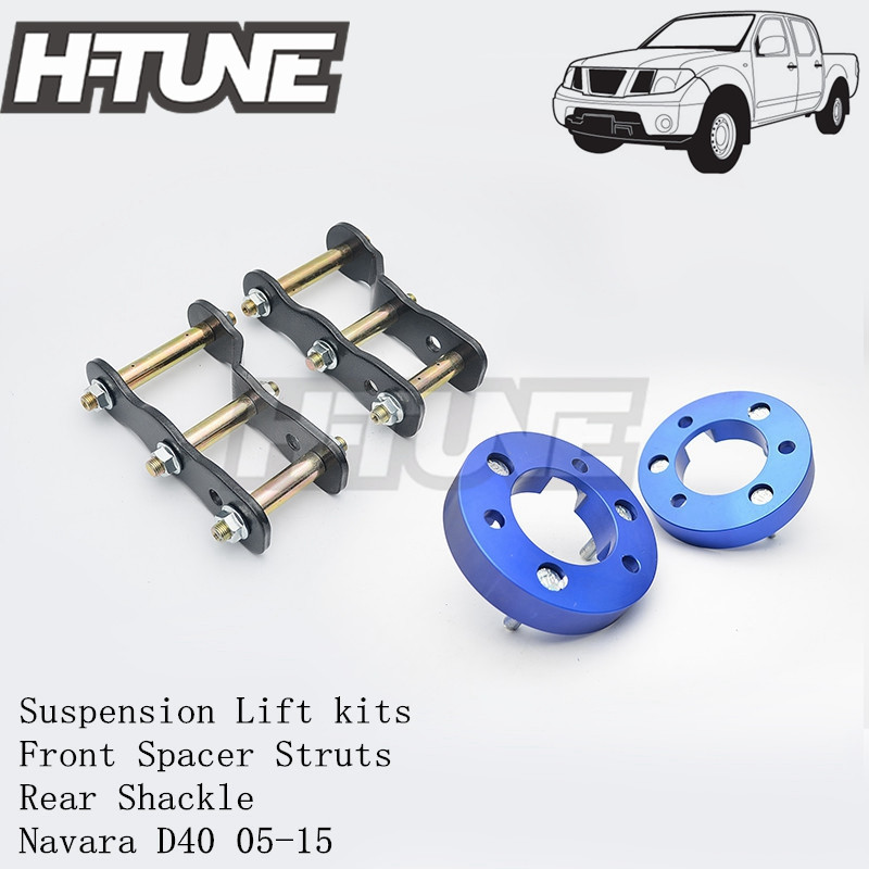 H-TUNE 4x4 Suspension Lift kits 25mm Front Strut Spacer + 2