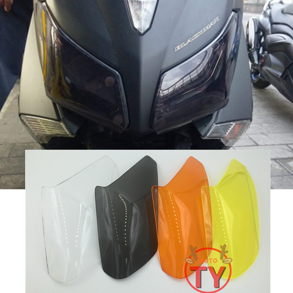 New Motorcycle Headlight Cover For Yamaha TMAX 530 2012 2013 2014 T MAX 530 Screen Protective Accessoris