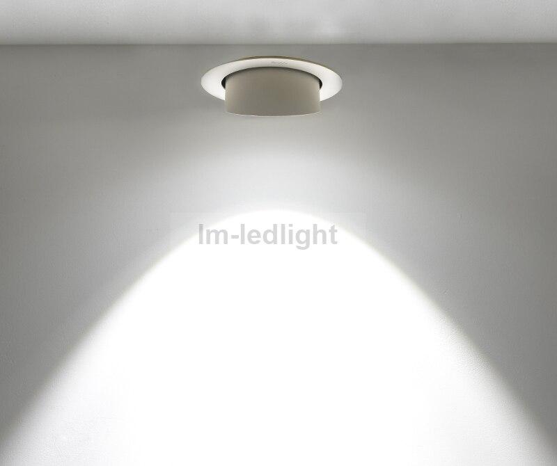 dimmable downlight led 30w bridgelux cob luminaire warm