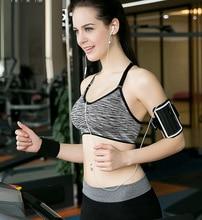 Adjustable Spaghetti Straps Women Sports Bra Underwear Running Yoga Training Stretch Athletic Brassiere Bras Top Seamless Vest