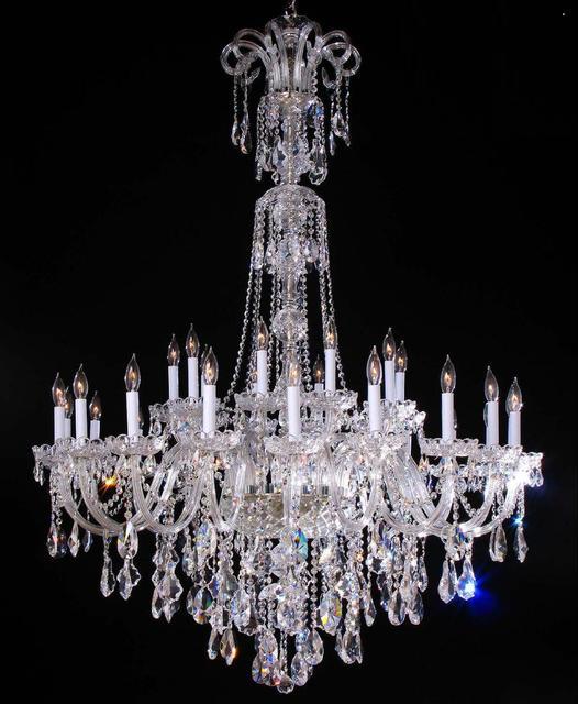 30 stücke moderne glas kronleuchter für wohnzimmer weiße kerze ...