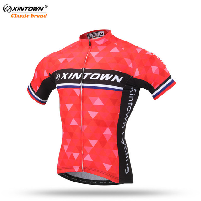 03d2c00d7 XINTOWN men cycling jersey 2018 pro team maillot ciclismo ropa mujer red mtb  bike jersey cycling