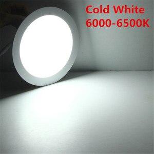 Image 5 - 10 adet Kısılabilir LED PANEL AYDINLATMA 3 W 6 W 9 W 12 W 15 W 25 W Gömme Tavan LED downlight Kapalı Spot Işık AC110V 220 V Sürücü Dahil