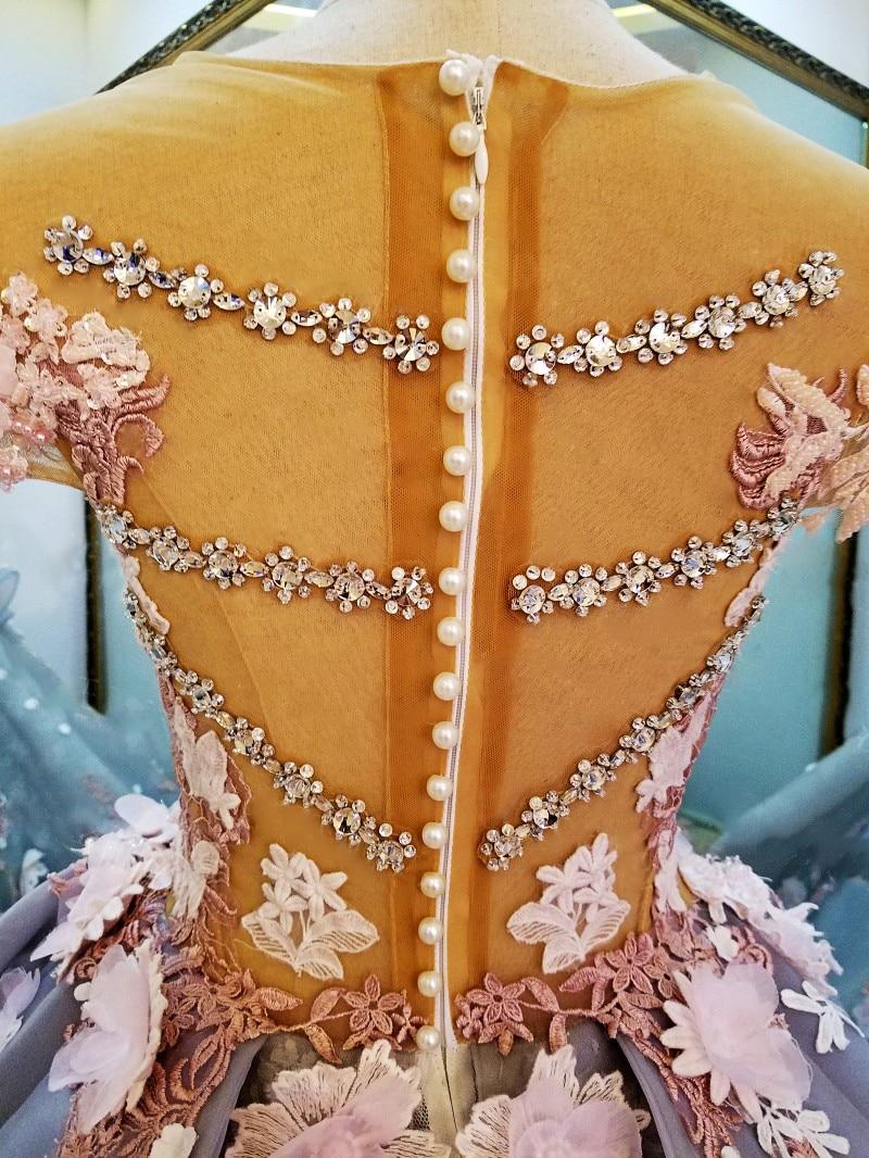 LS88349 gaun panjang untuk gaun pesta perkahwinan vestidos de festa - Gaun acara khas - Foto 6