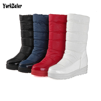 Yorkzaler Winter Kids Boots Waterproof 2018 New Fashion Knee High Casual Children Snow Boots For Boys