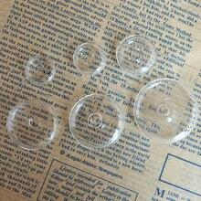 20 компл./лот круглые на плоской подошве форма жидкость ясная стеклянная бутылка с пузырьками, желающих флакон+ белый k кольцо base-16/18/22/27/30/35 мм optionoption