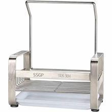 Кухня кухонное полотенце держатель Нержавеющая сталь для Полотенца Чистящая салфетка слив организовать губка для посуды держатель Полка