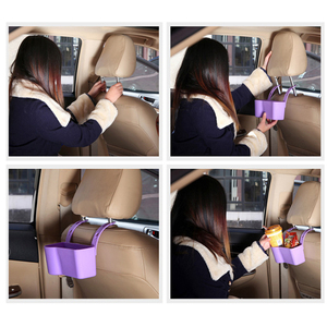 Image 2 - Auto Organizzatore Supporto di Tazza Sostegni bevande Accessori Per Auto Multifunzione Cibo Ripiani Sedile Posteriore Regolabile Automobili Forniture