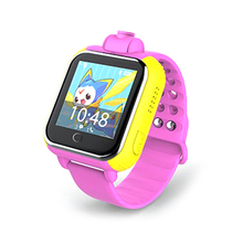 1pc Q10 GPS Tracker Watch 3G For Kids SOS Emergency WCDMA Camera GPS LBS WIFI Location Smart Wristwatch Q730 touch screen 1.54′