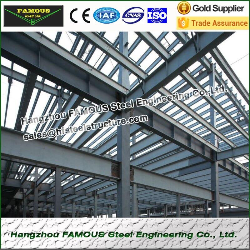 Estructura de acero pre ingeniería edificio almacén de ...