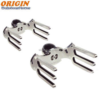 Origin OWT-WWII wakeboard rack polished in pair - DISCOUNT ITEM  0 OFF All Category