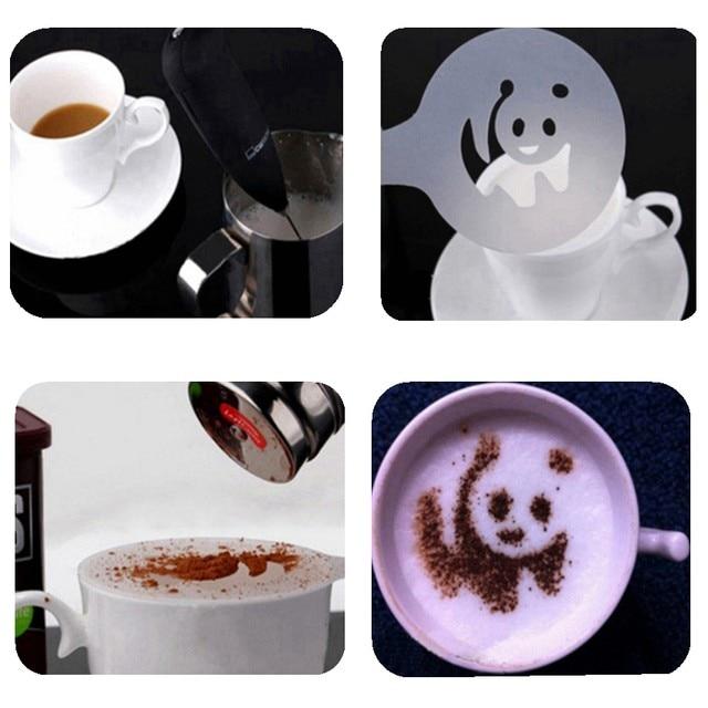 Online-Shop FHEAL 16 teile/satz Kreative Cappuccino Kaffee Barista ...
