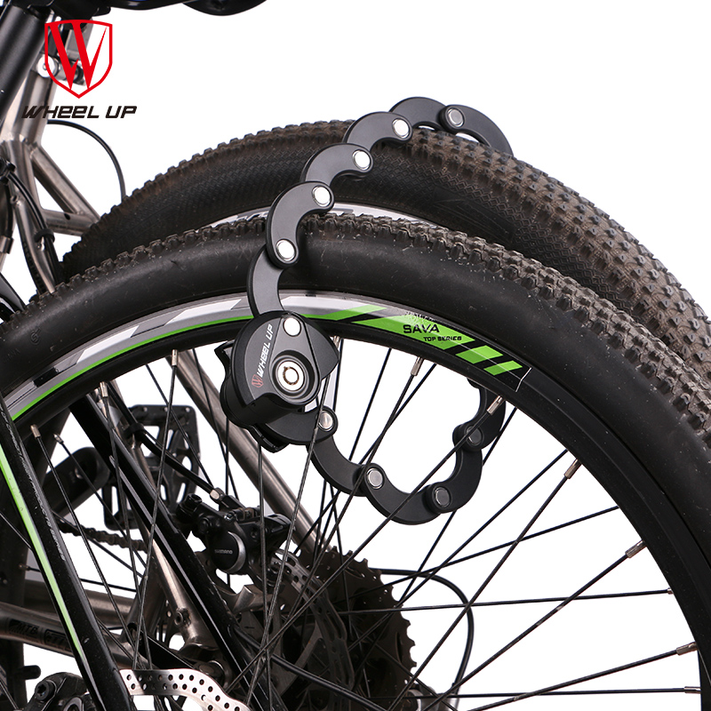 Steel Chain Portable Cycling Cable Anti-Theft Bicycle Lock Scooter Safety