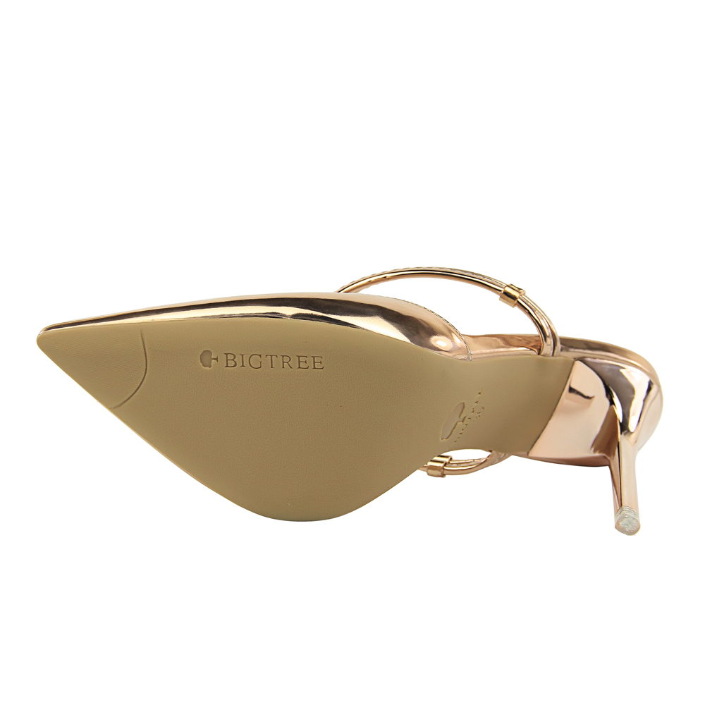 68bbceff03 Αγορά Γυναικεία παπούτσια | BIGTREE 3 Way Wear Women Metallic High ...