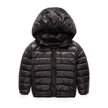 2-12Y Ultra light boys down jacket for girls white duck down parkas 90% down winter warm children coat big boys girls clothes