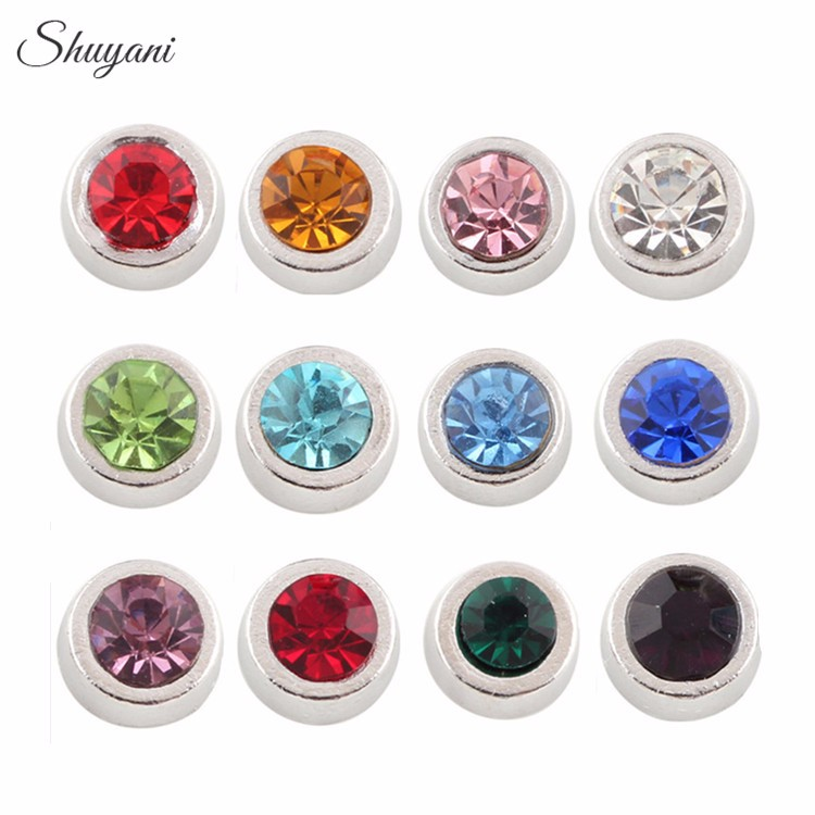 24pcs-lot-Mix-Assorted-Crystal-6mm-Birthstone-Charms-Rhinestone-Birthday-Stone-Floating-Locket-Charms-for-Necklace