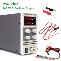 Wanptek KPS305DF 0~30V 0~5A Adjustable Digital Switching DC Power Supply 115/230V Four display