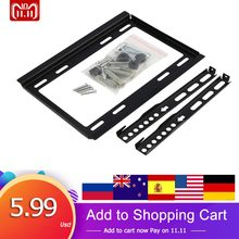 Universal TV Mount Bracket MonitorสำหรับSamsung Sony Panasonic 14 16 19 21 23 26 32 นิ้วsmart LCD TV Wall Bracket(China)