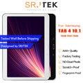 Para Samsung Galaxy Tab 4 10,1 T530 T531 T535 SM-T530 Tablet PC pantalla LCD con montaje de digitalizador de cristal táctil con marco