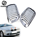 High Quality Chrome Auto Car Front Grille Racing Grills For BMW 46 3 Series 2D 1998-2002 Coupe Convertible Pre-facelift