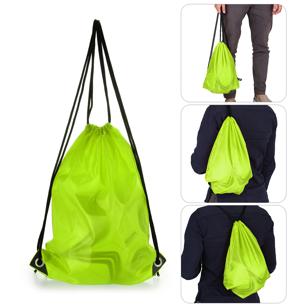 acfca149fa 1PC 16L Lightweight Drawstring Backpack Outdoor Sport Gym Sack Pack Travel  Storage Beach Bag Climbing Backpack Cycling Rucksack-in Climbing Bags from  Sports ...