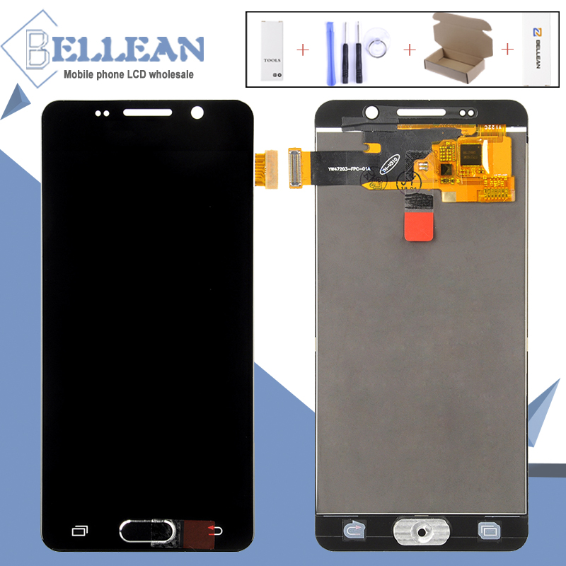 Free Transport 1Pcs A310 Liquid crystal display Hh For Samsung Galaxy A3 2016 A310F Sm-A310F Liquid crystal display Show Contact Display Digitizer Meeting+Instruments