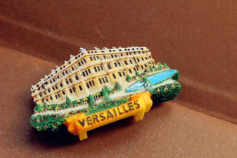 France Versailles Tourist Travel Souvenir 3D Resin Fridge Magnet Craft GIFT IDEA