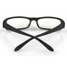 New Men Women Radiation Protection Glasses Computer Mirror Eyeglasses Frame Anti-fatigue Goggles Black Frame