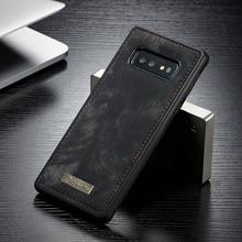 Original CaseMe Magnetic Vintage Leather Case For Samsung Galaxy