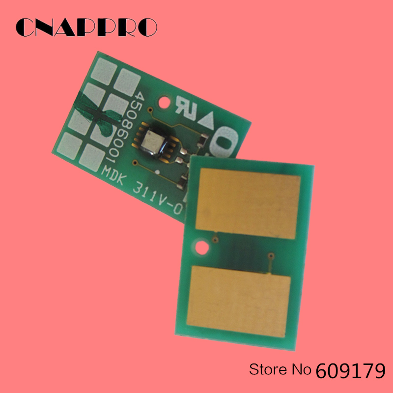 Compatible OKI 45536433 Toner White Chip For Okidata C941 C942 C 941 942 data printer powder refill resetter