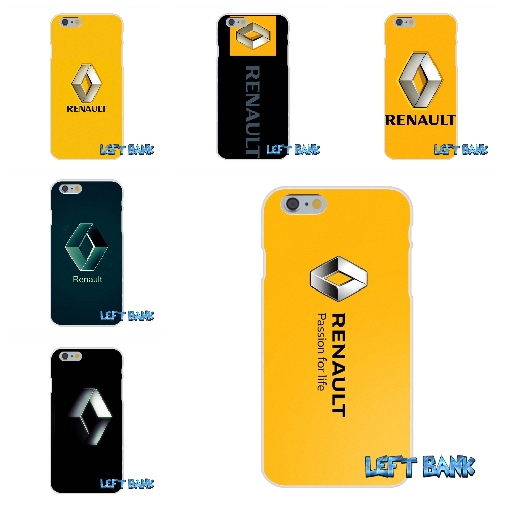 Renault S.Ads Soft Silicone TPU Transparent Cover Case For iPhone 4 4S 5 5S 5C SE 6 6S 7 Plus