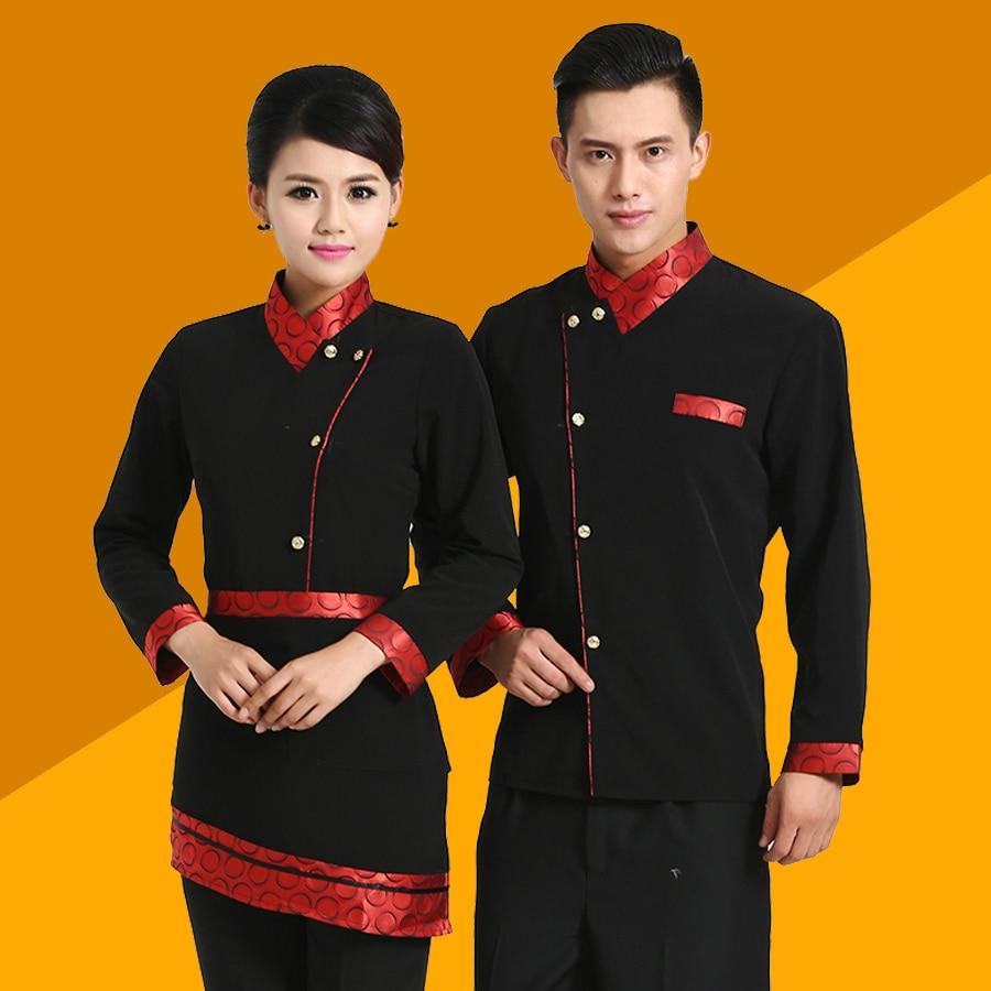 Uniformat e kamerierëve për veshjen e punës në restorant Uniforma e veshjes së kamerierit