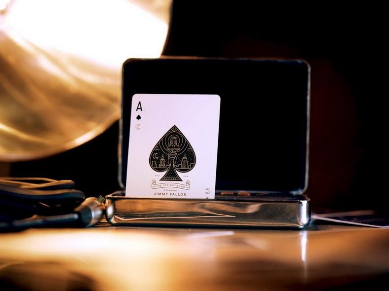 Jimmy Fallon Tonight Show Playing Cards Poker Size Deck USPCC theory11 Custom