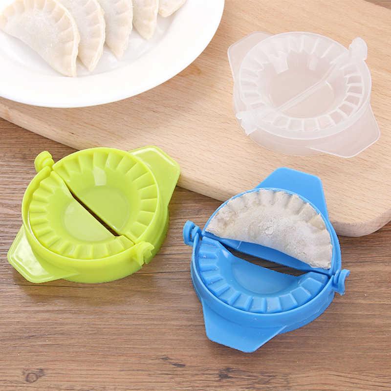 1pc DIY gotowanie pierogi formy wysokiej jakości proste plastikowe pierogi narzędzie pokój ciasto ciasto formy akcesoria kuchenne