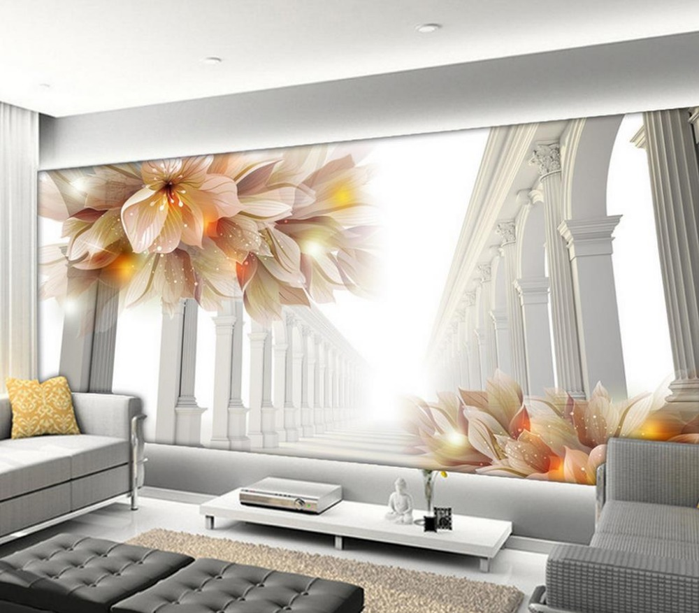 Wall Mural For Living Room Compare Prices On Wall Murals Wallpaper Online Shopping Buy Low