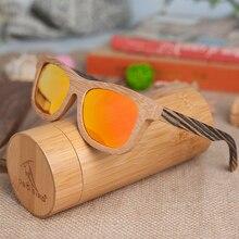 BOBO BIRD 2017 Top Brand Fashion Simple Style Sunglasses For Women And Men Bamboo & Zebra Wooden Eyewear Dropshipping C-DG007e