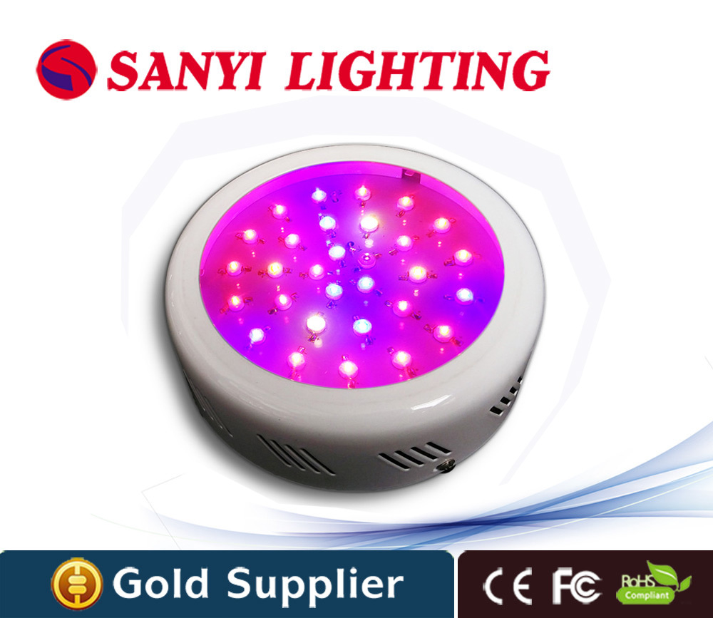 90w new ufo led grow light chinese plant light 10 spectrums for indoor hydroponic system plant