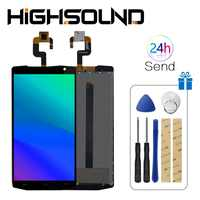"""For 5.5"""" original Oukitel K10000 LCD Display and TP Touch Screen Digitizer Assembly lcds +Tools for 5.5"""" Oukitel K 10000 lcd"""
