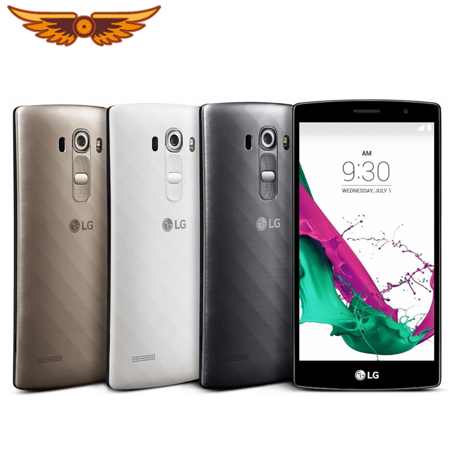 Original Unlocked LG G4 H815 EU H811 H810 5.5 Inches Hexa Core 3GB RAM 32GB ROM 16.0MP Camera 1080P Refurbished Smartphone