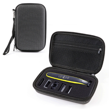2019 Newest Hard EVA Portable Cover Case for Philips OneBlade MG3750 7100 Shaver and Accessories PU Travel Bags Storage Box