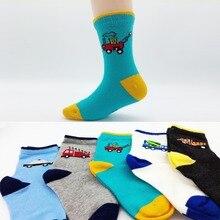 5pairs/lot Autumn Winter New Kids Cotton socks Boy,Girl,Baby,Infant,toddler fashion Cartoon ChildrenS Socks Breathable