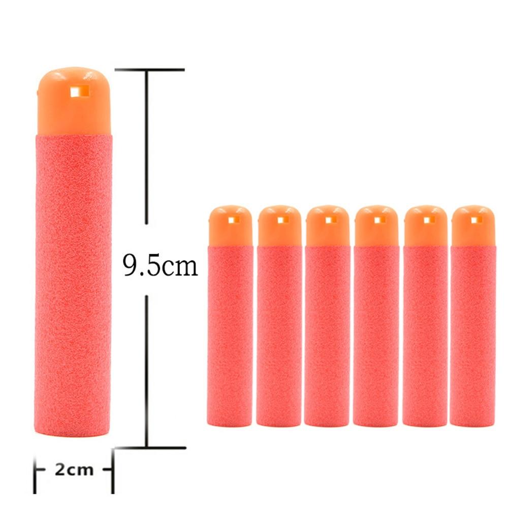 Hot Selling Mini Red 6*9.5cm Refill Foam Bullet Darts For Nerf N-Strike Elite Mega Centurion Toy Gun For Children Fun