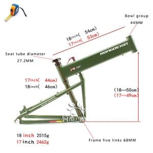 Image 4 - BMX מתקפל מסגרת 26/27. מסגרת מסגרת אופני הרים מתקפלים 5/29 אינץ נייד מתקפלים האמר