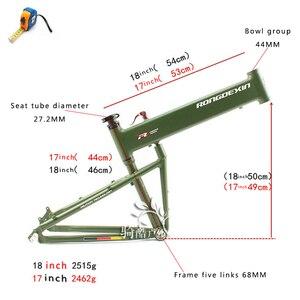 Image 4 - BMX folding frame 26/27.5/29 inch folding mountain bike frame portable Hummer folding frame