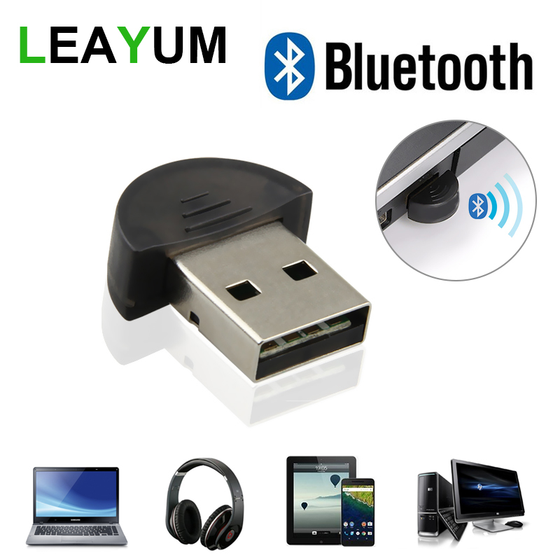 30pcs Wireless Bluetooth Adapter USB 2.0 Bluetooth Dongle V2.0 EDR 100m Dual Mode For PC Laptop Computer Game Gaming Playing mocreo wireless bluetooth 4 0 edr usb dual mode transfer receiver adapter mini dongle black