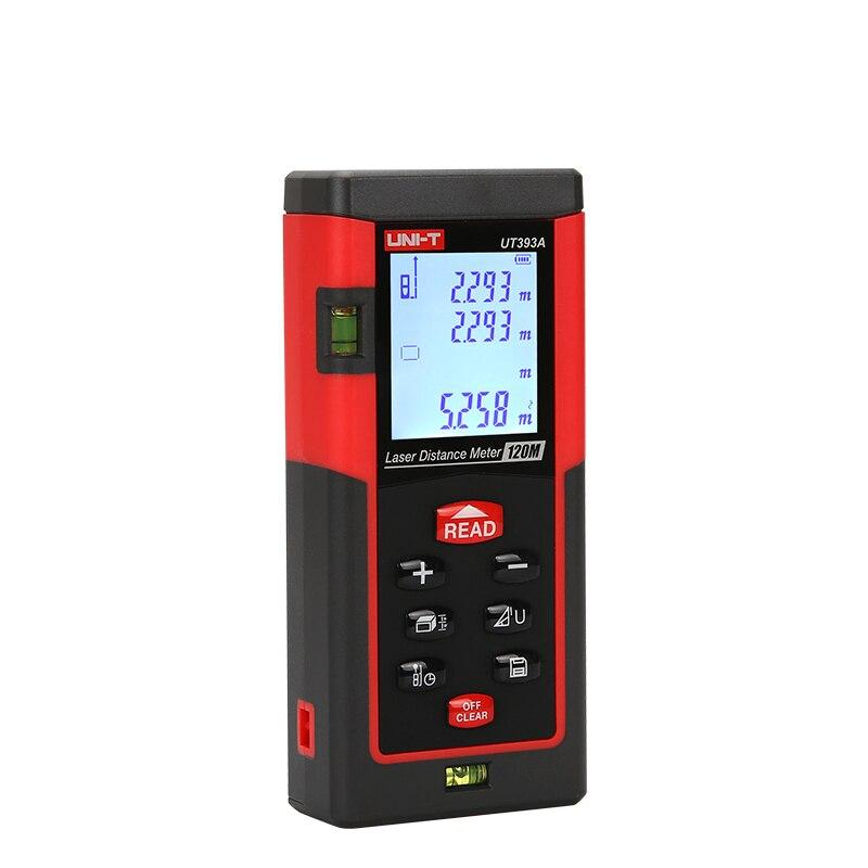 UNIT UT393A lézer távolságmérők 120 m távolság hozzáadása / - Mérőműszerek - Fénykép 4