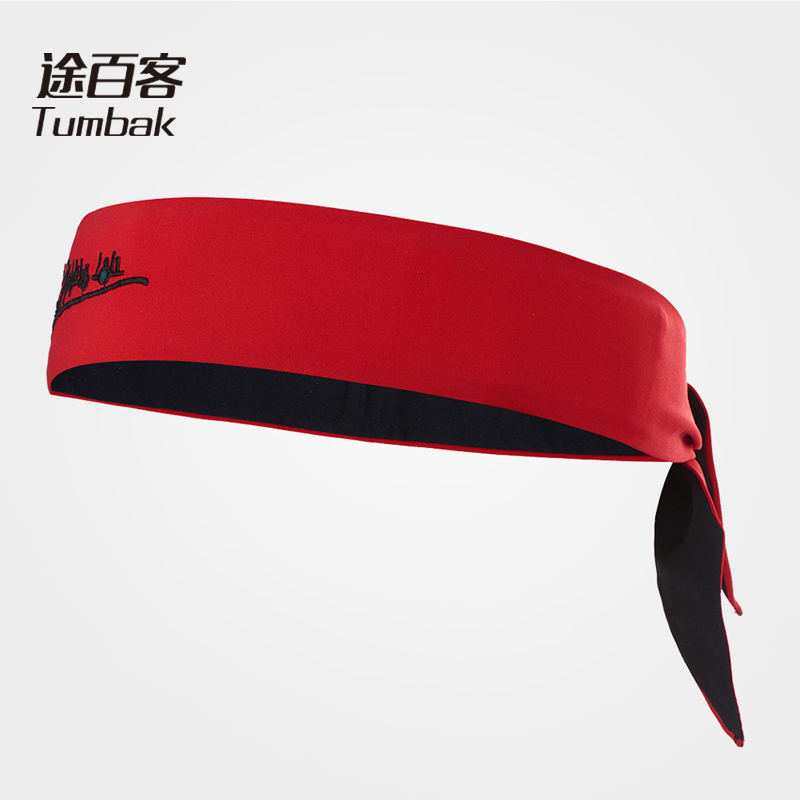 TUMBAK Sports Yoga Headbands Hair Band Sweat Absorb Non-slip Hairbands High Elastic Sports Gym Men Women Straps Soft Band D402