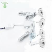 110V 220V LED Mini ceiling LED spot light lamp dimmable 1W mini LED downlight Including 1pcs drive with 6pcs light