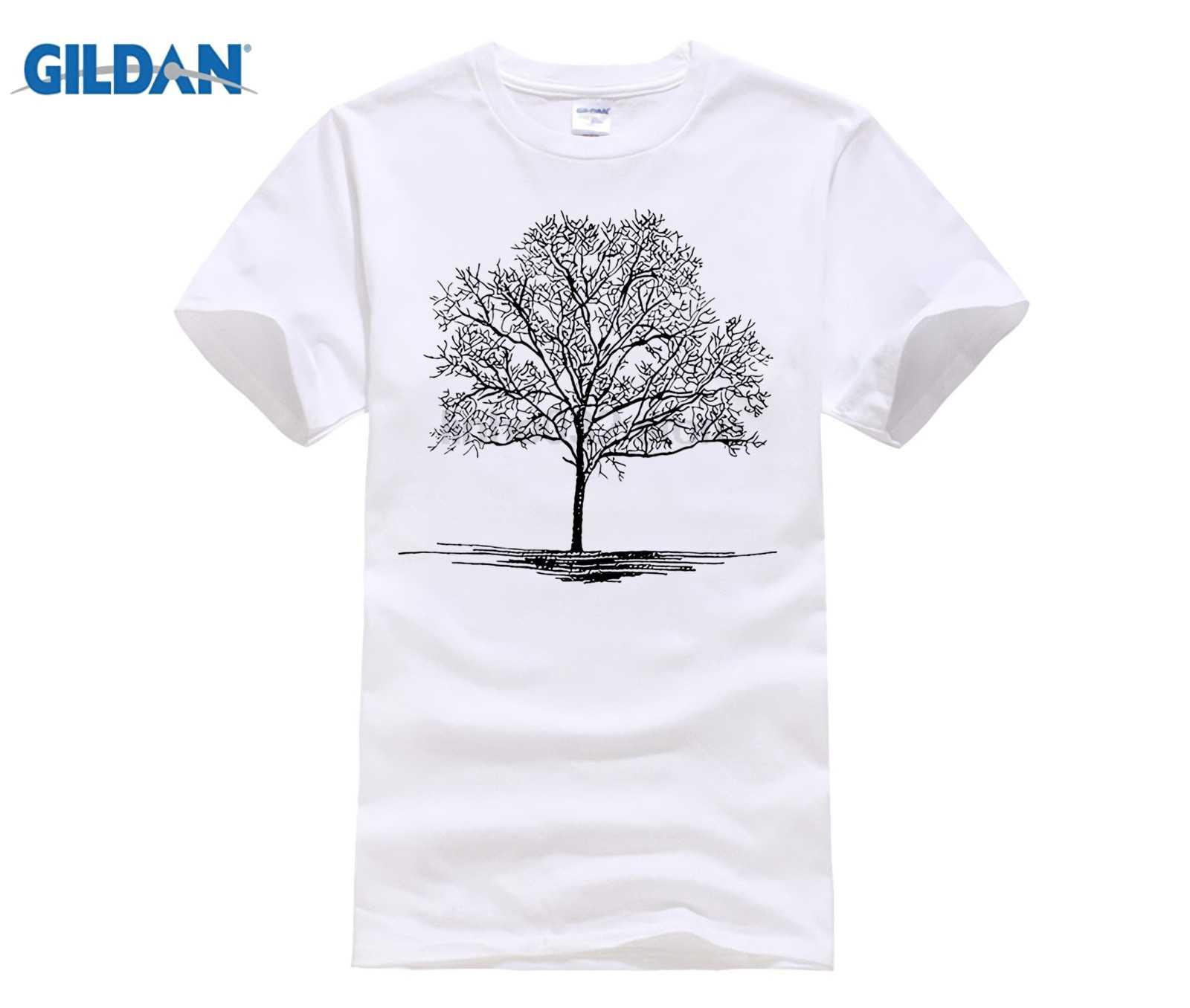 2018 летняя новая белая футболка Мужская льняная вышивка круглый вырез  Футболка мужская повседневная модная мужская брендовая d3912b79ce50e