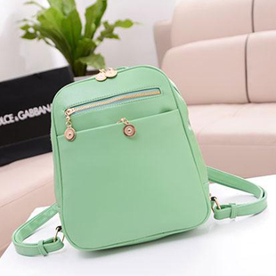ae99b7d0f10c Women Backpack Mint Green Mini Double-shoulder Bag Casual Backpack Bag  Student Bag Fashion for Women